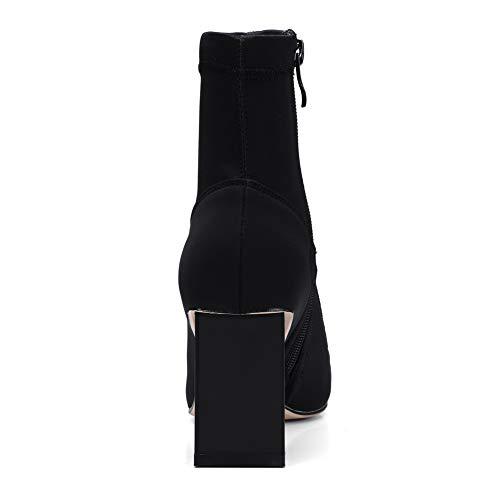 Femme Compensées Sandales Balamasa Abm12671 Noir q7Ynp
