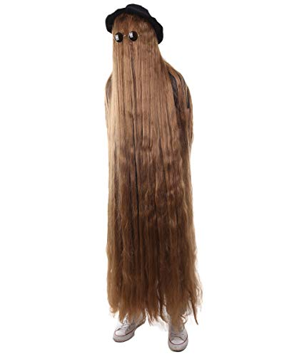 66 Inch Long Creature Wig, Brown (One Size, HM-1133) - http://coolthings.us