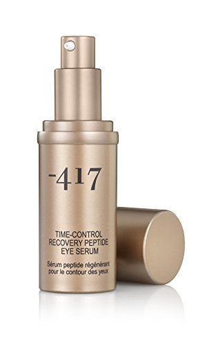 -417 Dead Sea Cosmetics Eye Serum Time Control Recovery For Puffiness and Dark Circle Remover, Peptide Anti-Wrinkle Eye Serum ()