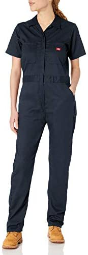Dickies Womens Short Sleeve Flex Coverall Work Utility Coveralls