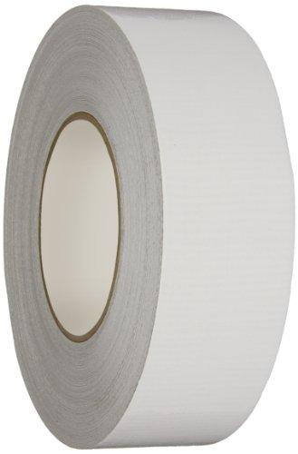 Nashua 398 Duct Tape (Nashua 398 Polyethylene Coated Cloth Professional Grade Duct Tape, 55m Length x 72mm Width, White)