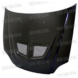 Seibon Carbon Fiber EVO-Style Hood Honda Civic 99-00