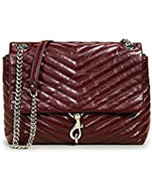 Women's Edie Quilted Shoulder Bag