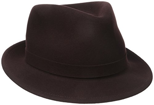 Kangol Hats Fedora (Kangol Men's Lite Felt Hiro Trilby, Americano, Medium)