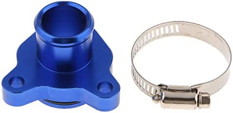 Homyl Automotive Water Hose Fitting Replacement for BMW 335i,335xi,135i,330i Blue