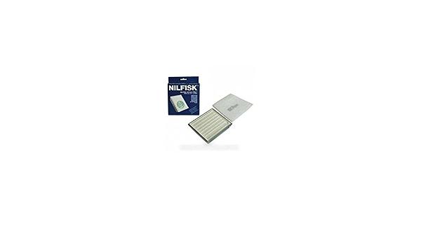 NILFISK ADVANCE-Filtro hepa h13 gm410 completo, 420, 430 para aspiradora NILFISK ADVANCE: Amazon.es: Hogar