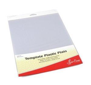 Template Plastic Plain 11 x 8-2 Sheets