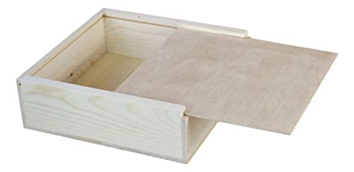 (12x12x3 3/4 inches Outside Dimensions Slide top Box)