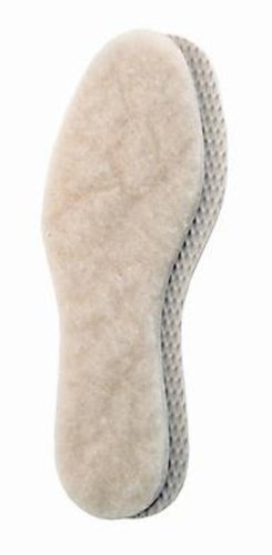 Pedag 112 Alaska Genuine Lamb's Wool Insole with Anti-Slip Latex, Women's 12/Men's 9 -
