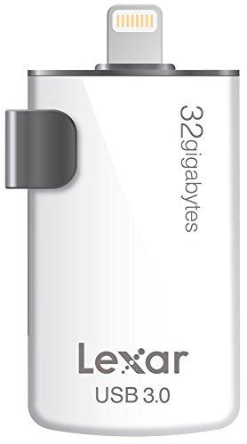 Lexar JumpDrive M20i 32GB Mobile Lightning/USB 3.0 Flash Drive - LJDM20I-32GBBNL