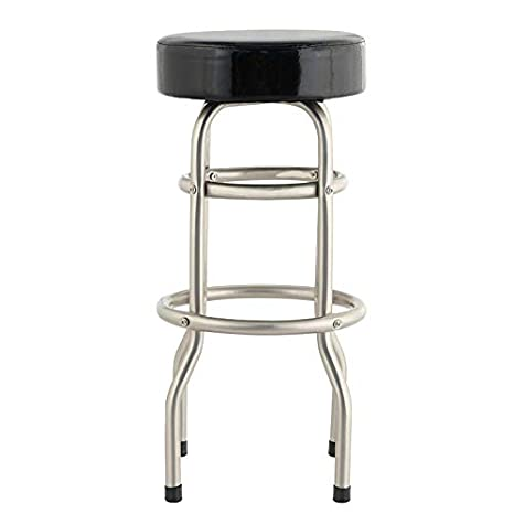 Terrific Amazon Com Wbbjbd Stainless Steel Stool Cashier Desk Front Squirreltailoven Fun Painted Chair Ideas Images Squirreltailovenorg