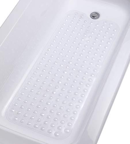 Tike Smart Lavable a máquina, superior extra larga antideslizante, transparente transparente