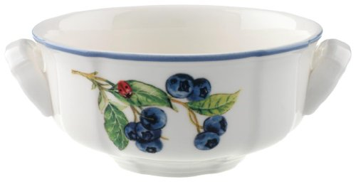 Pattern Cream Soup Bowl (Villeroy & Boch Cottage Cream Soup Cup)