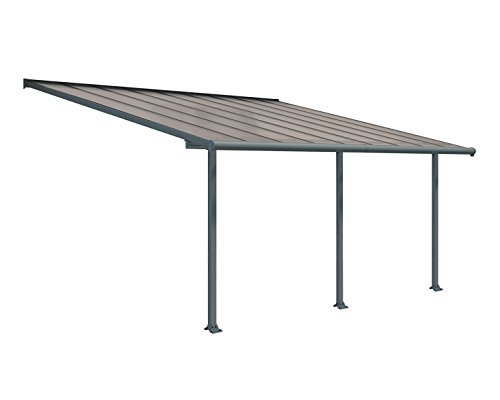 Palram HG8818 Olympia Patio Cover, 10' x 18'