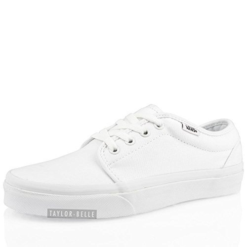 SIZE TRAINERS UNISEX VANS MENS SNEAKERS White TRUE SHOES WHITE AUTHENTIC 8Yq8Cw