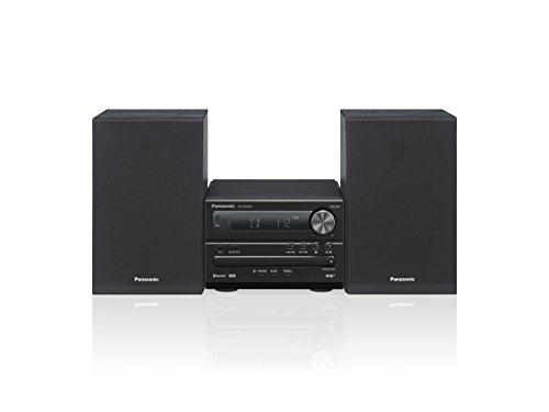 Panasonic Sc-Pm254Eg-K Micro- Met Hifi-Systeem (Bluetooth, Dab+, Cd, Fm, 20 W Rms) Zwart
