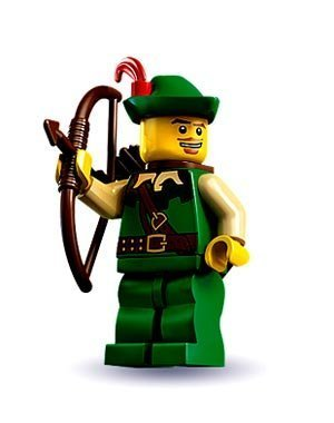 (LEGO 8683 Minifigures Series 1 - Forestman Archer)