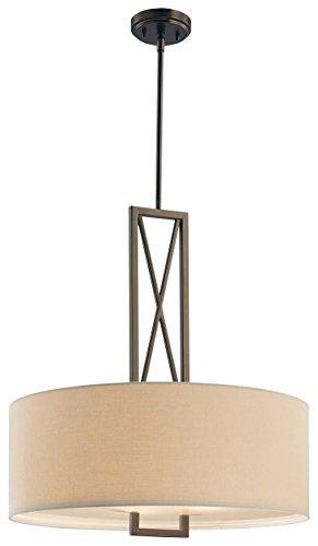 Minka Lavery Harvard Court Bronze Three Light Pendant