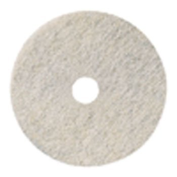 3M Ultra High-Speed Natural Blend Floor Burnishing Pads 3300, 20-in, Natural White - 5 pads per case. ()