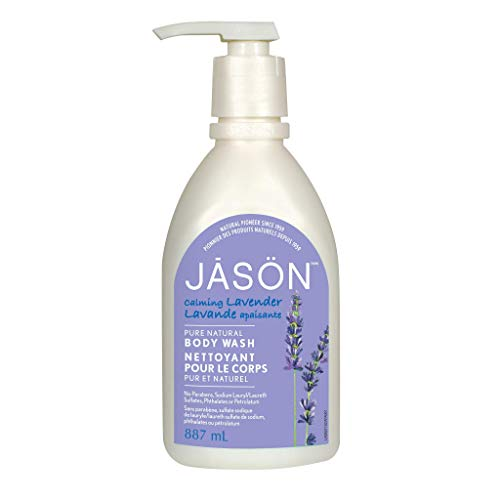 Jason Natural Body Wash and Shower Gel, Calming Lavender 30 oz from JASON