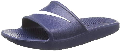 Nike Men's Kawa Shower Slide Sandals Midnight Navy/White Size 10 M US