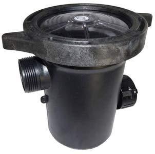 Waterway Plastics 310-5400B Hi-Flo Pump Strainer Housing with Lid & Basket Same as 310-5400 (Flo Pump Housing)