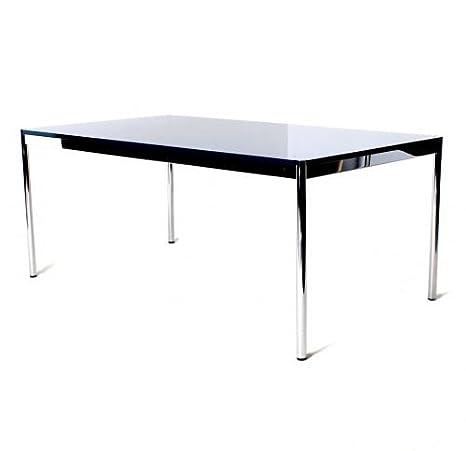 Haller USM da tavolo in vetro, riunioni tavolo, b 175 X H 74 X P 75 ...