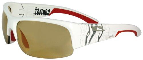 Julbo Contest Performance Sunglasses With Zebra Lens, White and - Contest Sunglasses