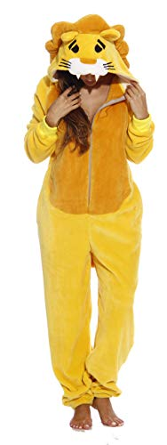 L6404-L-Lion #FollowMe Adult Onesie/Adult Pajamas ()