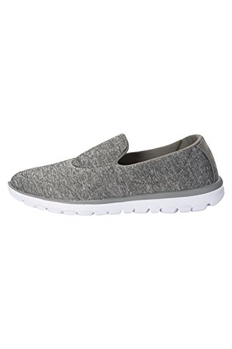 Easy for Travelling Lightweight Footbed Summer Spring Trainers Womens Ladies Shoes Rubber Moulded Lighthouse Running Grey Warehouse On Outsole Gym Mountain Slip xBnqp7Z