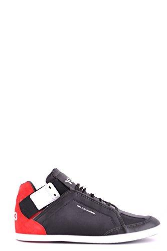 adidas Y-3 Yohji Yamamoto Hi Top Sneakers Uomo MCBI317085O Tessuto Nero