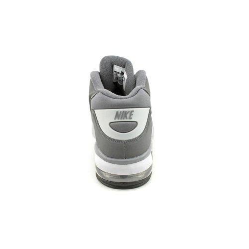 Chaussures De Basket Nike Air Force Max 2013 555105-001 Gris Foncé / Gris Foncé-loup Gris-noir