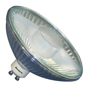 Medium Base Halogen Reflector Flood - Bulbrite 75R111GU/FL 75-Watt Halogen R111 Reflector, GU10 Base Flood Light (6 Pack)