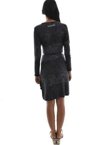 Desigual - Robe Desigual 36v2021 - lash noir - Taille XL  Amazon.fr   Vêtements et accessoires 4e6b908b0a4a