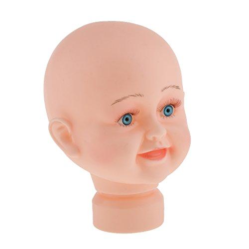 Homyl Children Mannequin Manikin Head For Hair Wigs Hats Glasses Stand Display 17