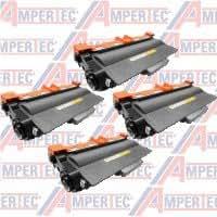 4 Ampertec Tóner para Brojoher TN-3390 negro