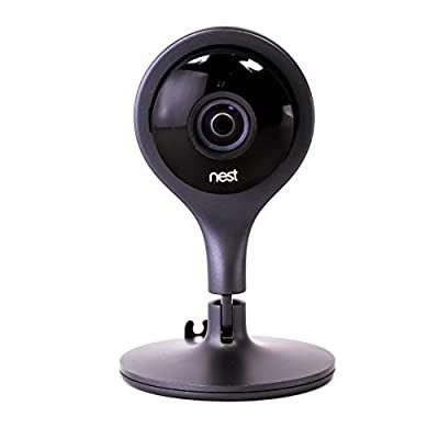 Nest Security Camera, Keep an Eye On What Matters to You, from Anywhere, for Indoor Use (Renewed)
