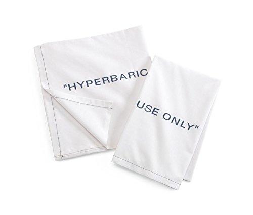 Medline Hyperbaric Sheet, Flat, 66X115, 100%C, 2DZ (Pack of 24)