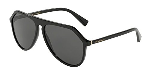Sonnenbrillen Dolce & Gabbana PRINCE DG 4330 SHINY BLACK/GREY Herrenbrillen 0FRUtgr