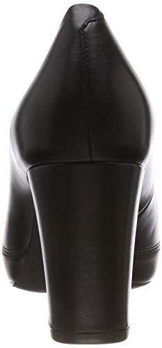 Femme na Escarpins f18 Noir Black black Unisa Numar wICqBv1