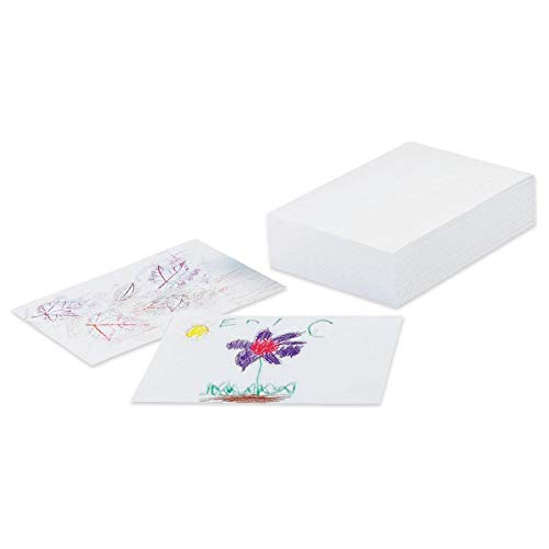 """Pacon Corporation 4719 Drawing Paper, Ream, 60lb, 9""""x12"""", 500 Sheets, White from Pacon"""