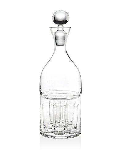Gift Set Vodka (Godinger Silver Art Spirits 8 PC Vodka)
