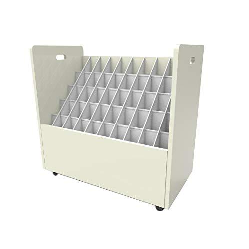 FixtureDisplays 50 compartments File Organizer 15127