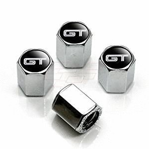 Modern Design Top Quality Ford Mustang GT Chrome Tire Stem Valve Caps - Ford Mustang Gt Tire