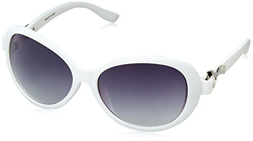 Rockford Gradient Oval Women's Sunglasses - (RF-142-C2|60|Grey lens)
