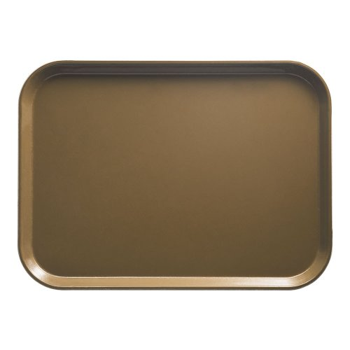 "UPC 099511124022, Cambro Camtray 15"" X 20"" Rectangular Tray, Bayleaf Brown (1520513) Category: Serving Platters and Trays"