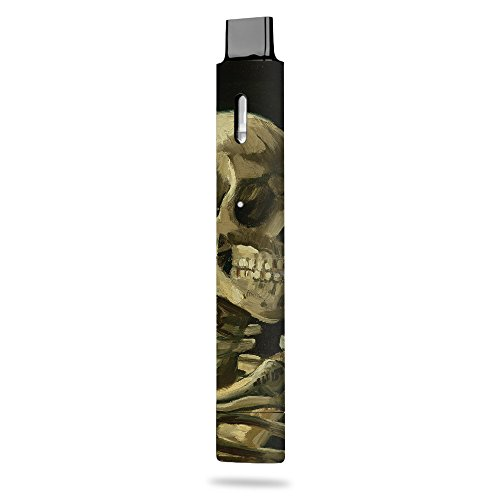 MightySkins Skin Compatible with Boulder Boulder Rock - Skull with Cigarette | Protective, Durable, and Unique Vinyl Decal wrap Cover | Easy to Apply, Remove, and Change Styles | Made in The USA