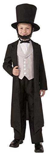 [Forum Novelties Deluxe Abraham Lincoln Costume, Medium] (Abraham Lincoln Costume For Child)