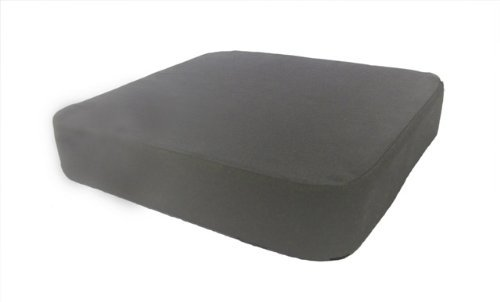 EXTRA THICK Memory Foam Dual Layer Seat Cushion Pad for Office, Home Sitting & Driving Comfort, Gray - by Dreamsweet by Dreamsweet
