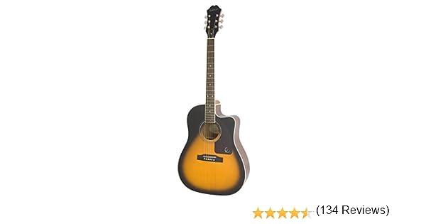 Epiphone AJ-220SCE - Guitarras electroacústicas, color vintage ...